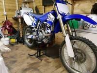 2005 Yamaha yz250f px swap