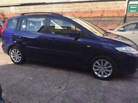 MAZDA 5 -2007 - 7 SEATER - 15 MONTHS WARRANTY INCLUDED - FULL SERVICE HISTORY & JUST BEEN SERVICED