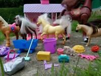 Pony's farm house