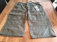 Men's shorts - 3 Pairs (Fatface, Gap, Billabong) all Size 34