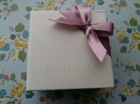 Pandora Moments Macramé Bracelet Brand New in Pandora Presentation Box (Lilac). Never been worn.