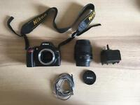Nikon D40 DSLR including 18-55mm lens + extras