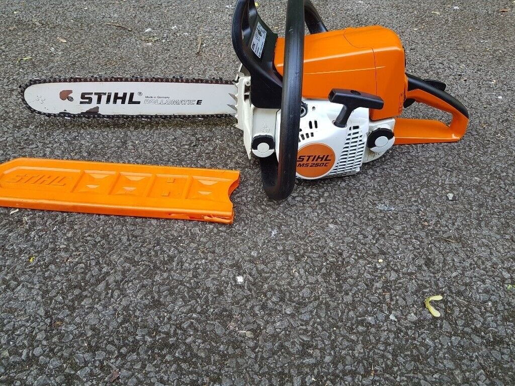 Stihl ms250c chainsaw, 16 hardly Used,very Good condition | in Reading,  Berkshire | Gumtree