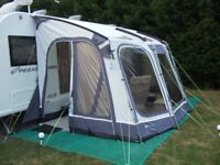 Outdoor Revolutions Compactalite Pro Integra 375 HEX Caravan Porch Awning