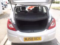 Vauxhall CORSA Life A/C,5 door hatchback,1 previous owner,clean tidy car,drives very well,only 65k
