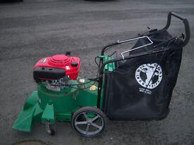 billy goat sv50h pro wheeled leaf vac, quiet series, pro range, 5.5hp honda easy start engine, gwo