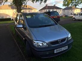 Vauxhall Zafira 1.6 petrol, 05 plate, spares or repair