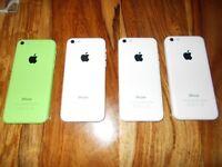 (4) X Apple iPhone's 5C (Sparess or repair) (£40 Each)