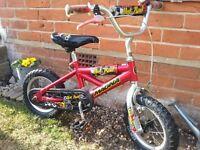 kids bike 14'' Magna Hot Rod