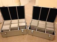 2 x CD/DVD Storage cases with keys