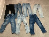 Boys age 2-3 bundle river island jeans