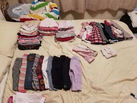 9-12 baby girl bundle
