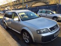AUDI A6 ALL ROAD ESTATE 2.5 DIESEL AUTOMATIC 2005 1 PREVIOUS OWNER SAT NAV HPI CLEAR BARGAIN!!