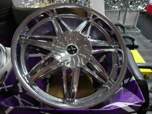 22 INCH NEW CHROME RIMS GM 6 BOLT & TRAVERSE 6X139.7 & 6X120 - SALE ON NOW - CHEAP RIMS