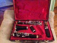 Clarinet & case