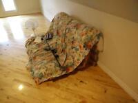 A-frame futon w/mattress