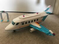 Lego friend's private jet and taxi set no. 41100