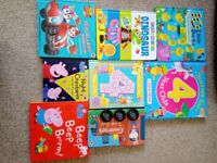 Toddler and preschool books collection/bundle