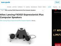 2.1 ALTEC LANSING SPEAKERS FOR MOBILE PHONE TV IPAD PC
