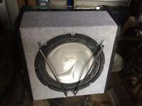 Car speaker box 10in speaker