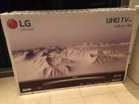 BRAND NEW SEALED LG 49 INCH 4K ULTRA HD SMART LED HDR TV. LATEST MODEL. £410 NO OFFERS.CAN DELIVER