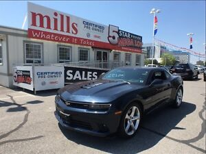 2015 Chevrolet Camaro SS 6.2L V8 RWD Bluetooth Touch Screen Navi