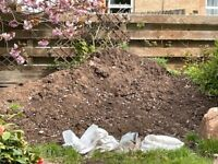 Free Dark Brown Garden Topsoil (soil free from weeds and rubble)