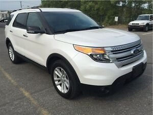 2014 Ford Explorer XLT / 4WD / 7 PASS/ WITH NAVI/ ALSO 2012 LIMI
