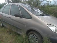 Breaking Citreon Xsara Picasso diesel 2002 all parts