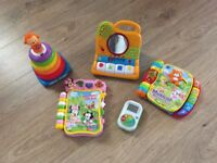 VTECH & leap frog baby/toddler toy bubdle