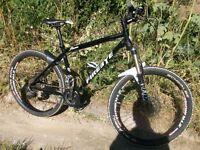 Mens Mountain Bike Custom Build like Specialized, Kona, Trek, Marin, Cannondale, Cube, Scott,GT ,Fox