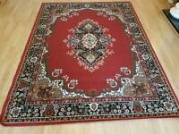 Gorgeous red rug