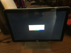 "HP 19"" lcd colour monitor"