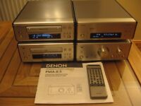"DENON 6.5 COMPACT SEPARATES HIFI SYSTEM ""What's Hifi Top Rated System"""