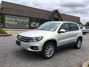 2013 Volkswagen Tiguan Comfortline/ LEATHER / SUNROOF / HEATED S
