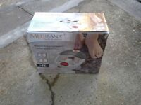 AS NEW / BOXED - High Quality Medisana HD Foot Massager