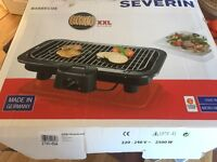 Set of electric grill, Raclette and fondue