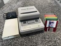 Super Nintendo with super magicom MS-3201