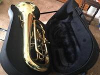 Brass euphonium - Rosetti Series 7