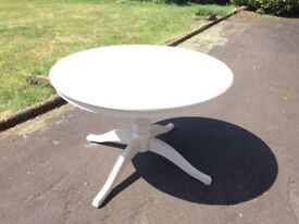 Extendable round circle kitchen / dining table Ikea