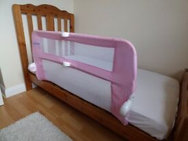 Lindam Bed Guard - Pink