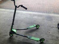 Sporter Scooter Green & Black