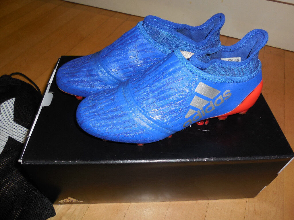 Boys Adidas Firm Ground Purechaos Football Boots - with box