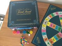 SPECIAL EDITION TRIVIAL PURSUIT IN COLLECTORS TIN!!