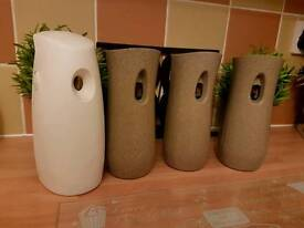 Set of 4 airwick diffusers