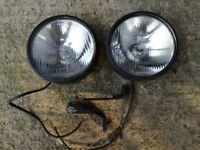 Ford fiesta MK2 Xr2 spot lights