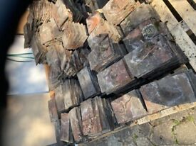 Reclaimed Bricks & roof tiles