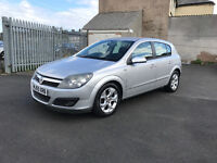 Vauxhall Astra 1.4 i 16v SXi 5dr 2005, 2 OWNERS, MOT FEB 2017, SERVICE HISTORY, DRIVES GREAT! £1095