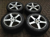 "Toyota Supra 17"" inch Wheels 8J 255/45 r17 and 9.5J with 265/40 ZR17 tyres"