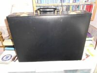 Faux leather brief case in good condition